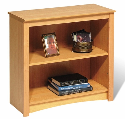 2 Shelf Bookcase in Maple - Sonoma Collection - Prepac Furniture - MDL-3229