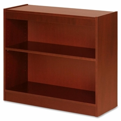 2 Shelf Panel Bookcase - Cherry - LLR89050