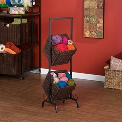 2-Tier Basket Storage - Holly and Martin