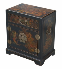 "20"" Antique Style End Table / Accent Table -Tang Dynasty - frc5008"