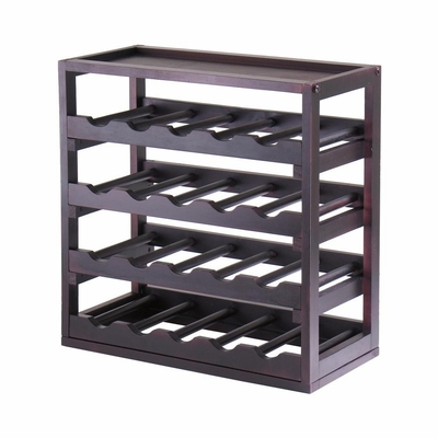 20 Bottle Wine Cube - Winsome Trading - 92145