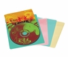 20 Colored Blue Red Yellow Green Music Sleeves five of each color plus UV coating - Atlantic - 74604736