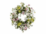 "20"" Dogwood Wreath in Asst - Nearly Natural - 4688"