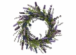 "20"" Lavender Wreath - Nearly Natural - 4785"