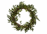 "20"" Olive Wreath - Nearly Natural - 4773"