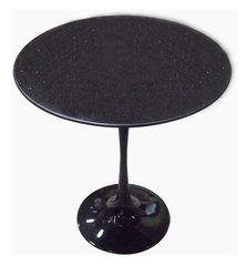 "20"" Round Saarinen Tulip Table in Black - RT-335S-BLACK"
