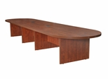 "216"" Modular Race Track Conference Table - ROF-LCTRT21652"