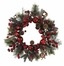 "22"" Apple Berry Wreath - Nearly Natural - 4677"