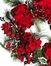 "22"" Hydrangea Holiday Wreath in Holiday - Nearly Natural - 4661"