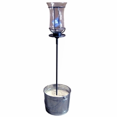 "22"" Table Stake with Champagne Torch - Pangaea Home and Garden Furniture - DS-C4458-22-ST1"