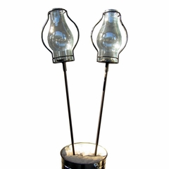 "22"" Table Stake with Love Torch (Set of 2) - Pangaea Home and Garden Furniture - DS-C3052-22-ST2"