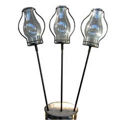 "22"" Table Stake with Love Torch (Set of 3) - Pangaea Home and Garden Furniture - DS-C3052-22-ST3"