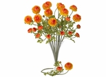 "23"" Ranunculus Stem (Set of 12) - Nearly Natural - 2108-OR"