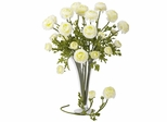 "23"" Ranunculus Stem (Set of 12) - Nearly Natural - 2108-WH"