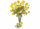 "23"" Ranunculus Stem (Set of 12) - Nearly Natural - 2108-YL"