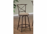 "24"" Bar Stool (Set of 2) in Brown - Coaster - 122029-SET"