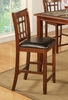 "24"" Bar Stool (Set of 2) in Cherry - Coaster - 102189-SET"
