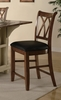 "24"" Bar Stool (Set of 2) in Cherry - Coaster - 102272-SET"