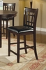 "24"" Bar Stool (Set of 2) in Dark Cappuccino - Coaster - 102889-SET"
