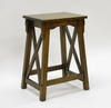 "24"" Chestnut Counter Stool - Carolina Chair - S350-1224E"
