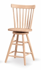 "24"" Copenhagen Swivel Stool - 285-24"