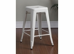 "24"" Counter Height Stool in White- Set of 2 - 103059W"