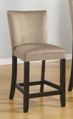 24 Inch Bar Chair (Set of 2) in Taupe - Coaster