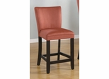 24 Inch Bar Chair (Set of 2) in Terracotta - Coaster