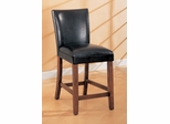 24 Inch Bar Stool (Set of 2) in Black - Coaster - COAST-11003571-SET