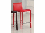 24 Inch Bar Stool (Set of 2) in Red - Coaster