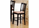 24 Inch Bar Stool (Set of 2) in Rich Cappuccino - Coaster