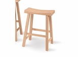 "24"" Saddle Seat Stool - 1S-682"