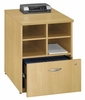 "24 "" Storage Unit - Series C Light Oak Collection - Bush Office Furniture - WC60304"