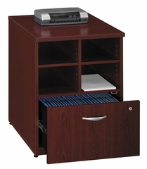 "24 "" Storage Unit - Series C Mahogany Collection - Bush Office Furniture - WC36704"