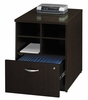 "24 "" Storage Unit - Series C Mocha Cherry Collection - Bush Office Furniture - WC12904"