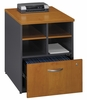 "24 "" Storage Unit - Series C Natural Cherry Collection - Bush Office Furniture - WC72404"