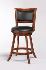 "24"" Swivel Bar Stool (Set of 2) in Dark Espresso - Coaster - 101919-SET"