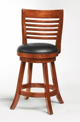 "24"" Swivel Bar Stool (Set of 2) in Light Cherry - Coaster - 101949-SET"