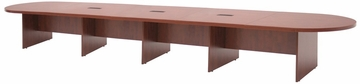 "264"" Modular Race Track Conference Table - ROF-LCTRT26452"