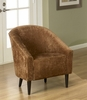 278 Orion Club Chair in Rust Chenille - Armen Living - LC278CLRU