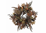 "28"" Autumn Pumpkin Wreath - Nearly Natural - 4907"