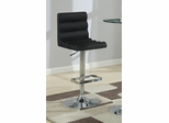 "29"" Adjustable Black Barstool - Set of 2 - 102553"