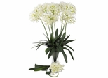 "29"" African Lily Stem (Set of 12) - Nearly Natural - 2129-WH"