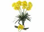 "29"" African Lily Stem (Set of 12) - Nearly Natural - 2129-YL"