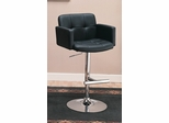"29"" Bar Chair in Black - Coaster - 120352"
