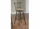 "29"" Bar Stool (Set of 2) in Brown - Coaster - 122030-SET"