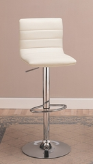 "29"" Bar Stool (Set of 2) in White - Coaster - 120345-SET"