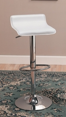 "29"" Bar Stool (Set of 2) in White - Coaster - 120391-SET"