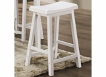 "29"" Bar Stool (Set of 2) in White - Coaster - 180159N-SET"