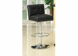 "29"" Faux Leather Adjustable Height Barstool - 102552"